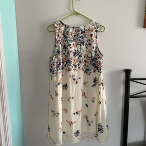 Maurice's sleeveless floral patterned dress